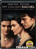 My Cousin Rachel (2017) (DVD + Digital HD) (US Version)