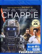 Chappie (2015) (Blu-ray) (Mastered In 4K) (Hong Kong Version)