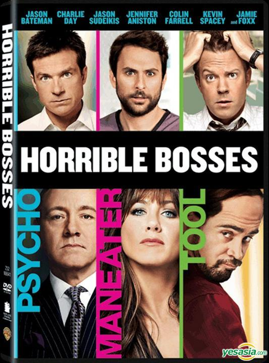 Yesasia Horrible Bosses 2011 Dvd Hong Kong Version Dvd Kevin Spacey Colin Farrell Warner Hk Western World Movies Videos Free Shipping
