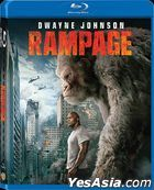 Rampage (2018) (Blu-ray) (Hong Kong Version)