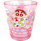 Crayon Shin-Chan Clear Plastic Cup (Red)