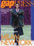 2021-2022 A/W gap PRESS vol.159 MILAN/NEW YORK