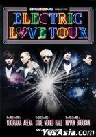 BIG BANG Electric Love Tour 2010 - Tour Poster