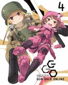 Sword Art Online Alternative Gun Gale Online Vol.4 (Blu-ray) (Limited Edition) (Japan Version)