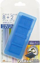 PSV カードケース8+2 VITA 2nd ブルー (日本版)