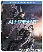 The Divergent Series: Allegiant (2016) (Blu-ray + DVD + Digital HD) (US Version)