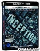 Inception (4K Ultra HD + 2D Blu-ray) (3-Disc) (Korea Version)