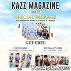 KAZZ : Vol. 177 - Tay & Off & Arm (SPECIAL PACKAGE : Poster - Arm Weerayut)