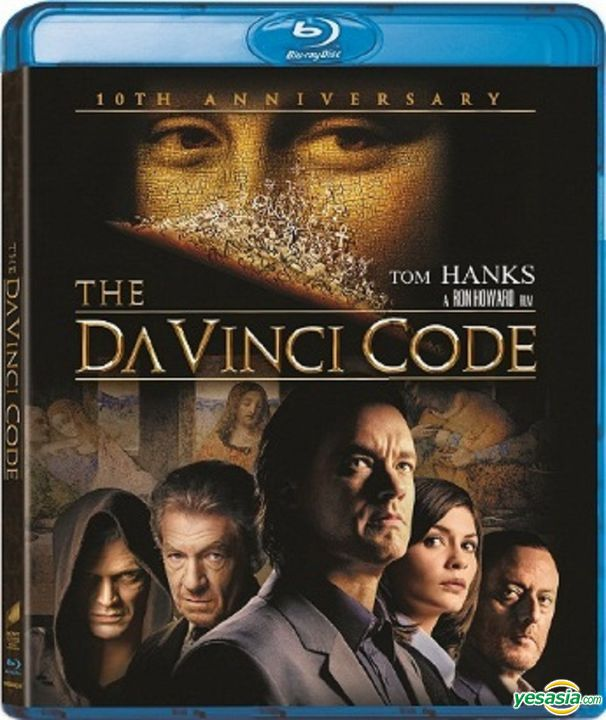 Yesasia The Da Vinci Code 2006 Blu Ray 10th Anniversary Edition Mastered In 4k Hong Kong Version Blu Ray Audrey Tautou Tom Hanks Intercontinental Video Hk Western World Movies Videos