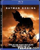 Batman Begins (2005) (Blu-ray) (Hong Kong Version)