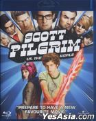 Scott Pilgrim vs. the World  (2010) (Blu-ray) (Hong Kong Version)