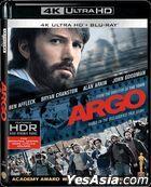 Argo (2012) (4K Ultra HD + Blu-ray) (Hong Kong Version)