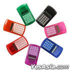 Rainbow Electronic Calculator (Red)