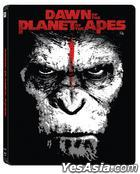 Dawn of The Planet of the Apes (Blu-ray) (2-Disc) (3D + 2D) (Steelbook Limited Edition) (Korea Version)