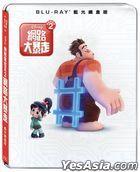 Ralph Breaks the Internet: Wreck-It Ralph 2 (2018) (Blu-ray) (Steelbook) (Taiwan Version)