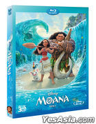 Moana (Blu-ray) (2-Disc) (2D + 3D Combo Limited Edition) (Korea Version)