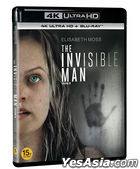 The Invisible Man (4K Ultra HD + Blu-ray) (2-Disc) (Korea Version)