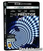 The Prestige (4K Ultra HD Blu-ray) (3-Disc) (Korea Version)