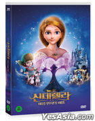 Cinderella And The Secret Prince (DVD) (Korea Version)
