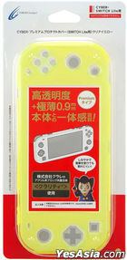 Nintendo Switch Premium Protect Cover (Clear Yellow) (Japan Version)