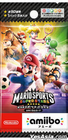 amiibo Card Mario Sports Super Stars (Japan Version)