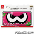 QUICK POUCH COLLECTION for Nintendo Switch Ika:Neon Pink (日本版)
