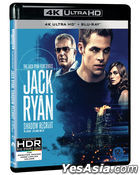 Jack Ryan: Shadow Recruit (4K Ultra HD + Blu-ray) (Limited Edition) (Korea Version)
