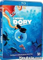 Finding Dory (2016) (Blu-ray) (3D) (Hong Kong Version)