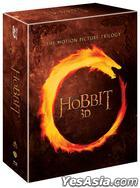 Hobbit Trilogy (Blu-ray) (12-Disc) (2D + 3D) (Outbox) (Limited Edition) (Korea Version)
