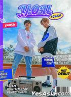 DONGKIZ I:KAN The 1st DONGKIZ Project Single Album Vol. 1 - Y.O.U (YOUTH Version) + Random Poster in Tube