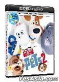 The Secret Life of Pets 2 (4K Ultra HD + Blu-ray) (Hong Kong Version)