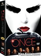 Once Upon A Time (DVD) (The Complete Fifth Season) (Hong Kong Version)