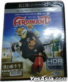 Ferdinand (2017) (4K Ultra HD + Blu-ray) (Hong Kong Version)