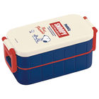 SNOOPY 2-Tier Lunch Box 600ml with Chopsticks
