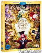 Alice Through the Looking Glass (2D + 3D Blu-ray) (2-Disc) (Korea Version)