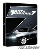 Fast & Furious 7 (Blu-ray) (Steelbook Limited Edition) (Korea Version)