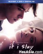 If I Stay (2014) (Blu-ray + DVD + UltraViolet) (US Version)