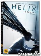 Helix (DVD) (3-Disc) (Season 1) (Korea Version)