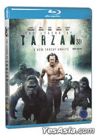 The Legend of Tarzan (2D + 3D Blu-ray) (2-Disc) (Korea Version)