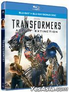 Transformers: Age of Extinction (2014) (2D Blu-ray + Bonus Disc) (Hong Kong Version)