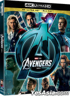 The Avengers (4K Ultra HD + 2D Blu-ray) (2-Disc) (Korea Version)
