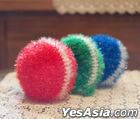 Start-Up Nam Do San RGB Handmade Scrub Sponges (3pcs)