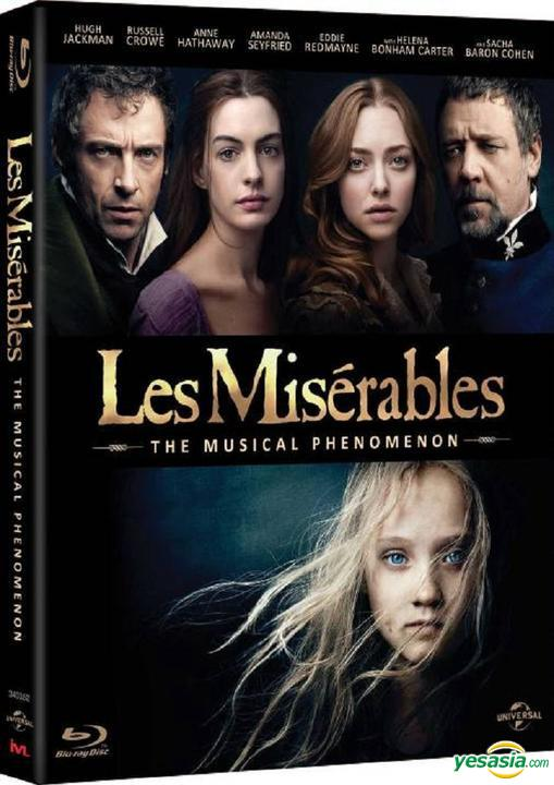 Yesasia Les Miserables 2012 Blu Ray Hong Kong Version Blu Ray Hugh Jackman Russell Crowe Intercontinental Video Hk Western World Movies Videos Free Shipping North America Site