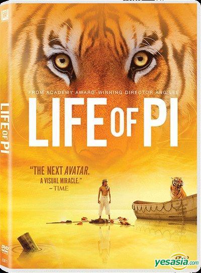 Yesasia Life Of Pi 2012 Dvd Hong Kong Version Dvd Ang Lee Irrfan Khan 20th Century Fox Taiwan Movies Videos Free Shipping