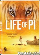 Life of Pi (2012) (DVD) (Hong Kong Version)