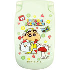 Crayon Shin-Chan Portable Mirror (Light Green)