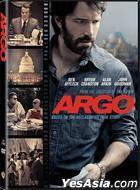 Argo (2012) (DVD) (Hong Kong Version)