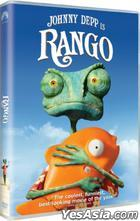 Rango (2011) (DVD) (Hong Kong Version)