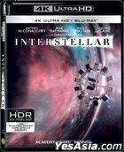 Interstellar (2014) (4K Ultra HD + 2 Blu-ray) (3-Disc Edition) (Hong Kong Version)