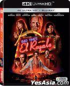 Bad Times at the El Royale (2018) (4K Ultra HD + Blu-ray) (Hong Kong Version)